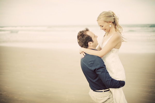 Wedding photography taken at Crawford's beach lodge in the Eastern Cape
