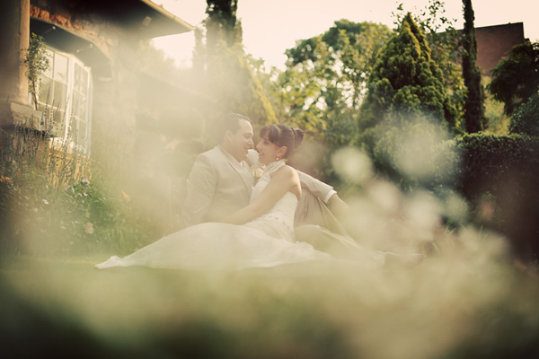 Wedding photography taken at Shepstone Gardens in Johannesburg, by Gauteng wedding photographer